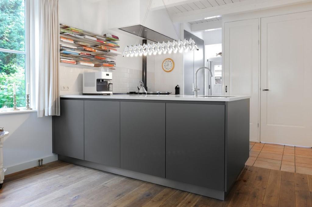 Keuken ontworpen en geplaatst door Dévies cookcompany